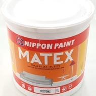 Plamur Wall Filler / Wall Filler / Wall Filler / Wall Putty Matex 1kg By Nippon Paint