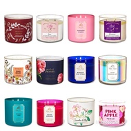 AUTHENTIC BATH AND BODY WORKS BBW 3 WICK SCENTED CANDLE
