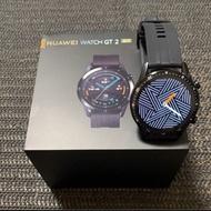 華為 HUAWEI WATCH GT 2 黑色 46mm 可通話智慧手錶