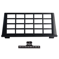 Sheet Musical Instrument Keyboard Stand Accessories Portable Durable Holder,Include 1 Pcs Music Book Clip