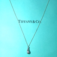 TIFFANY&Co 經典款水滴純銀項鍊
