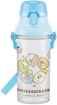 大賀屋 日本製 角落生物 直飲式 水壺 水杯 彈跳杯 兒童 幼稚園 兒童水壺 角落小夥伴 SAN-X J00015800
