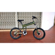 20 INCI MONGOOSE FOLDING MTB BIKE