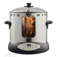 烤鴨爐電燒烤爐家用無煙室內多功能烤鴨烤雞爐烤肉串機全自動旋轉