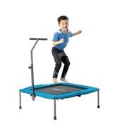 ☆天才老爸☆→ 【Fitwell】40吋四角扶手彈跳床→跳跳床 彈簧床跳高床有氧彈跳樂彈跳器平衡感兒童遊戲床運動健身器材