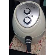 科帥AF-701陶瓷版高耐用機械式氣炸鍋 (二手保內)