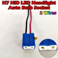 Car Sportlight Headlight Socket H7 Socket Bulb Socket Hid Led H7 Socket Head Light Bulbs Bulb Socket H7 1pcs