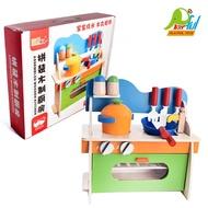 【Playful Toys 頑玩具】迷你木製家家酒廚房組 6610 裝扮遊戲 家家酒玩具 木製仿真廚房遊戲組