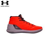 【UNDER ARMOUR】男 Curry 3 籃球鞋 亮橘/石墨黑 (1269279-810)