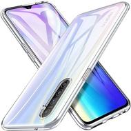 Ultra Thin Clear Soft CaseสำหรับOPPO Reno 4 10Xซูม 5G Z 2F Realme 6 C3 A31 x50 Pro Q X2 X3 XT A9 2020 A5 K5 A1K A52 A72 A92S