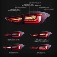 【預購無現貨】現代Elantra全LED流水專用尾燈   EX專用導光全LED跑馬款尾燈