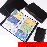 XIANT06969 New Collection Credit Card Container Book Case Cards Album Card Holder Books Leather