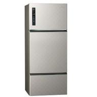 【Panasonic 國際牌】481公升三門變頻冰箱 NR-C489TV-S(銀河灰)