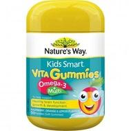 Nature's Way魚油+綜合維生素軟糖 50顆