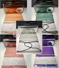 [Ready Stock] Easy Care Adult COLOR 3 Ply MASK BFE <95% Disposable Headloop