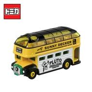 【日本正版】TOMICA DM-19 布魯托 巴士 玩具車 雙層巴士 Disney Motors 多美小汽車 - 161332