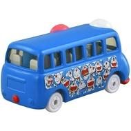 【領券折$30】小禮堂 TOMICA多美小汽車 哆啦A夢 造型巴士 玩具車 模型車 (158 藍)