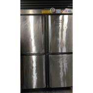 南門新舊餐飲設備拍賣瑞興二手四門無霜冷凍冷藏冰箱