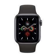 Apple Watch Series 5 GPS版 44mm 鋁錶殼配運動錶帶(全新品未拆封原廠保固一年)