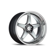 "แม็ก Lenso D-1SF (Medium) Series: ProjectD HBMA Size 18""x8.5"" P.C.D. 5x114.3 ET 35"