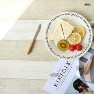 【唯蓁網4961】地中海風格背景紙 拍攝拍照道具 黃米白色 50cm不反光仿木板 美食化妝品攝影背景北歐風