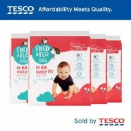 Pampers Tesco Fred   Flo pants diapers combo 4 packs