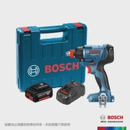 【BOSCH 博世】18V 鋰電電鑽/起子機套裝組 GDX 180-LI 5.0Ah