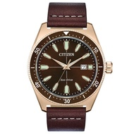 CITIZEN ORIGINAL AW1593-06X Eco-Drive Leather Watch