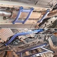 巨城汽車精品 LUXGEN 納智捷 U6 底盤強化 平衡 拉桿 五件式 鋁桿 穩定重心