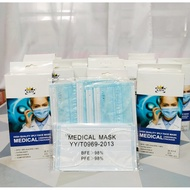 KBM Medical Face Mask (20pcs) with Individual Packing + CE cert
