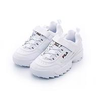 FILA KIDS  大童復古運動鞋(老爹鞋/鋸齒鞋)-白3-C465T-125