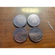 湯姆熊海綿寶寶代幣,湯姆熊,推幣機,代幣,黑色塑膠幣