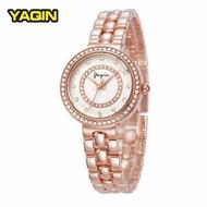 Yaqin Three-Hand Stainless Steel Watch