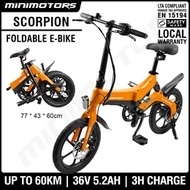 [SG Seller] Scorpion Electric Bicycle ebike eBikes PAB / Free Shipping / Free Gift [LTA Approved]