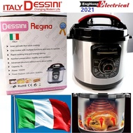 6L Italy Dessini High Pressure Cooker, not russell taylor pressure cooker