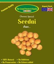 Uppu Seedai-The Grand Sweets and Snacks  Brand-Deepavali and Krishna Jayanthi/ Janmashtami  Snacks  250 Grams