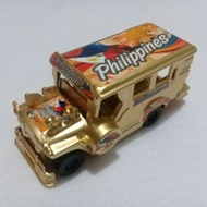 """3"""" Philippine Jeepney Die Cast Metal (Gold Edition Small)"""