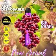 Akso Disposable Flavour Pod akso disposable 500 puffs