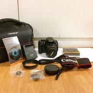 (零負評 保固兩個月) Canon 650D+18-55mm 鏡頭 全套配件 二手