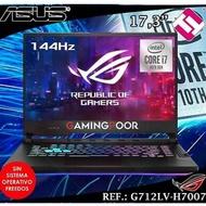 Laptop Gaming ASUS Rog Strix I7 10750H 16GB 1TB SSD Nvidia RTX2060 Teletrabajo