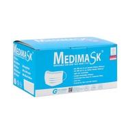 Medimask | หน้ากากอนามัย 3 ชั้น เกรดทางการแพทย์ คละสี (50 ชิ้น/กล่อง)