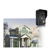 【保固一年】高規 7寸彩色 可視對講門鈴 夜視防雨 鋁合金 室外機 監視器 對講機 網路攝影機 無線門鈴 無線 wifi