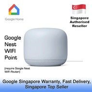 GOOGLE NEST WIFI POINT / 1 YEAR GOOGLE SINGAPORE WARRANTY