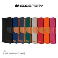 GOOSPERY ASUS ZenFone 4 Max ZC554KL CANVAS 網布皮套