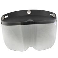 耐磨抗uv安全帽護目鏡-短鏡片(2入)