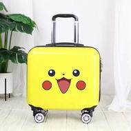 กระเป๋าเดินทางพร้อมกระเป๋าล้อลากชุด 18 เด็กการ์ตูนพกพากระเป๋าเดินทางกระเป๋าเดินทางของขวัญเด็กกระเป๋าเป้สะพายหลัง