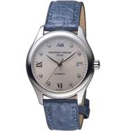 【CONSTANT 康斯登】經典時尚機械女腕錶(FC-303LGD3B6 藍皮)