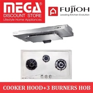 FUJIOH BUNDLE PACKAGE: FG3773SVSS STAINLESS STEEL HOB+ SLM900 COOKER HOOD/ LOCAL WARRANTY