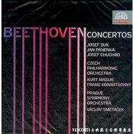 【Supraphon】貝多芬:協奏曲集(Suk蘇克,Jan Panen,斯米塔謝,孔維茲尼)(4CD)