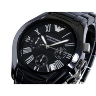 【X】【瑤閣】MPORIO ARMANI 陶瓷錶旗艦系列 AR1400 Armani男女手錶 情侶陶瓷腕